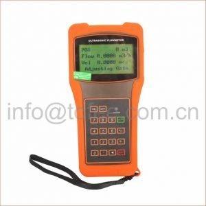 Hand Held Portable Ultrasonic Flow Meter