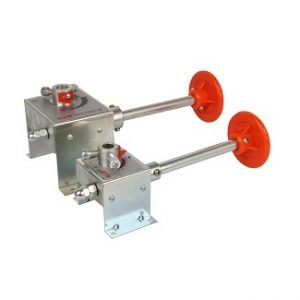 Manual Worm Gear Damper Regulator