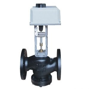 2 Way Motorized Modulating Flanged Globe Valve