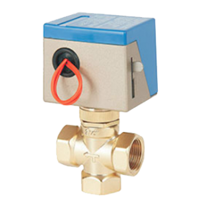 3 way motorized valve