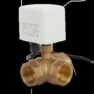 3 way motorized ball valve