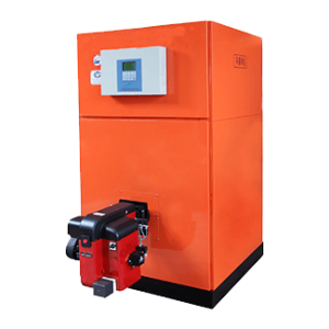 Oil (Gas) Fueled  Vertical Hot Water Boiler