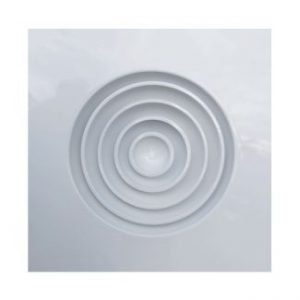 Ceiling Square Framed Round Blades Air Diffuser