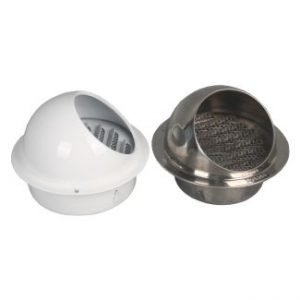 Hooded Louvered Vent Cap