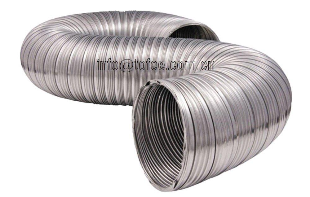 Semi Rigid Aluminum Flexible Duct