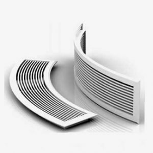 Curved Fixed Bar Air Grille