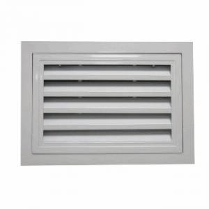 Hinged Air Return Louver