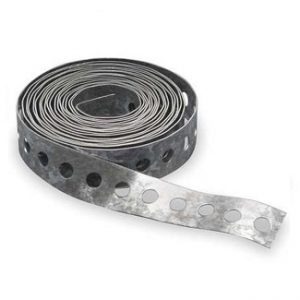 Perforated Galvanized Steel Duct Strap