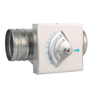 Round Constant Air Volume Controller
