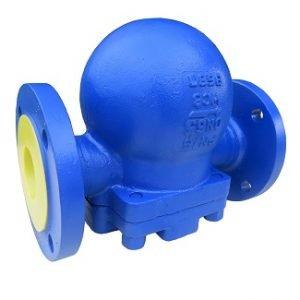 High pressure float Steam trap