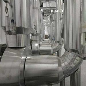 Pipe Insulation Aluminum Cladding