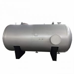 Pressurized S.S. Horizontal Cylindrical Insulated Tank