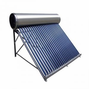 Solar Heat Collector Tube with Insulated Tank