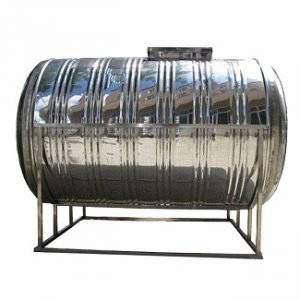 Stainless Steel Horizontal Cylindrical Insulated Tank
