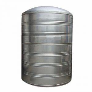 Stainless Steel Vertical Cylindrical Insulated Tank