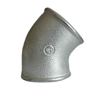 Galvanized Malleable Iron 45° Elbow