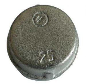 Galvanized Malleable Iron End Cap