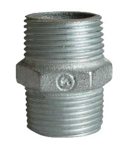 Galvanized Malleable Iron Nipple