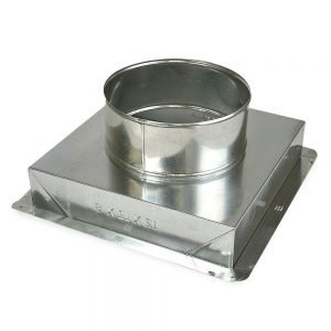 Air Diffuser Rectangular to Round Adapter