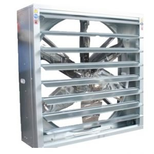 Automatic Shutter Axial Box Fan