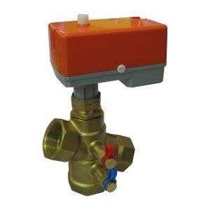 Brass Threaded Modulating Pressure Independent Control Valve (PICV)