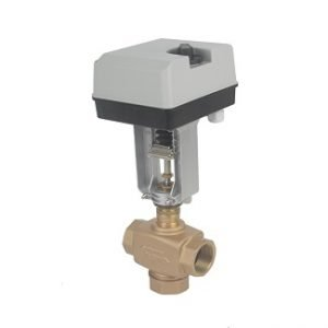 Motorized Modulating Threaded Brass Globe Valve