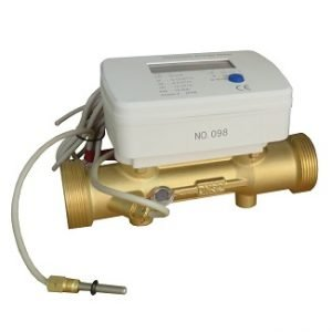 Brass Threaded Ultrasonic BTU Meter