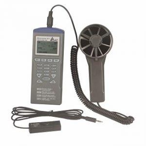 Digital Air Flow Temperature Humidity Meter