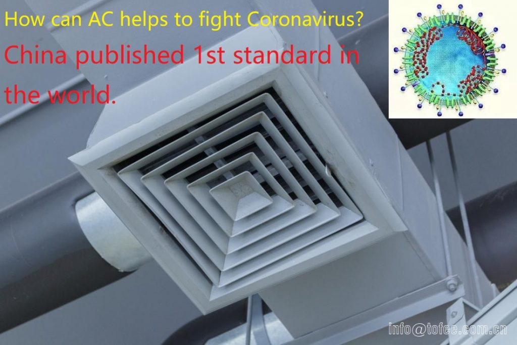 China Published Standard: Air Conditioning Helps to Fight CoronaVirus