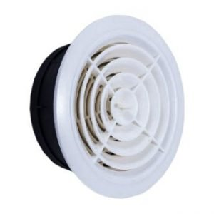 Plastic Rotary Open Close Round Air Vent