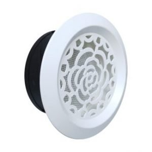 Plastic Aesthetic Decorative Round Air Vent