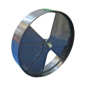 Plastic Rotating Volume Control Damper