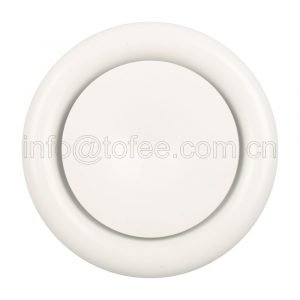 Ceiling Supply Air Vent Disc Valve